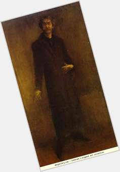 "<a href=""/hot-men/james-abbott-mcneill-whistler/is-he-paintings-nocturne-arrangement-grey-and-black"">James Abbott McNeill Whistler</a> Slim body,  dark brown hair & hairstyles"