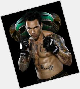 Jason David Frank dark brown hair & hairstyles Athletic body,