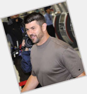 Jason Varitek dark brown hair & hairstyles Athletic body,