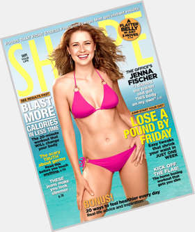"<a href=""/hot-women/jenna-fischer/is-she-married-hot-pregnant-season-8-and"">Jenna Fischer</a> Slim body,  light brown hair & hairstyles"