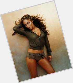 Jennifer Lopez light brown hair & hairstyles Athletic body,