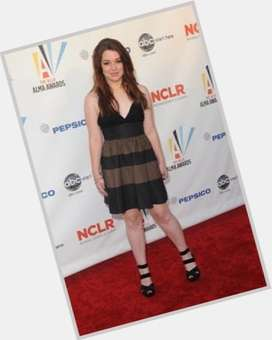 Jennifer Stone dyed blonde hair & hairstyles Voluptuous body,