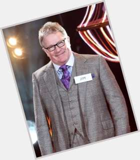 Jim Davidson light brown hair & hairstyles Athletic body,