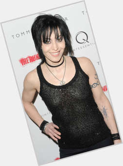 Joan Jett black hair & hairstyles Athletic body,