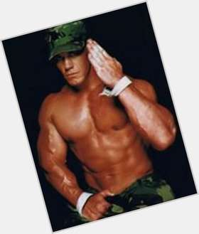 John Cena light brown hair & hairstyles Athletic body,