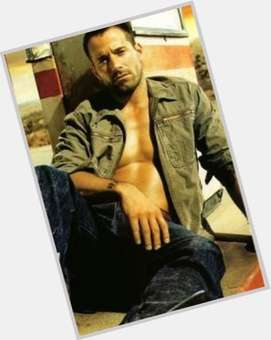 Johnny Messner dark brown hair & hairstyles Athletic body,
