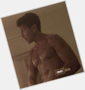 Jon Bernthal dark brown hair & hairstyles Athletic body,