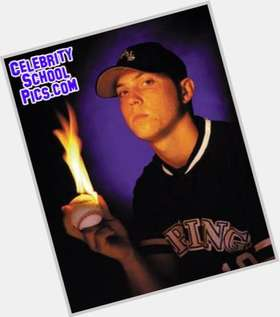 Josh Beckett dark brown hair & hairstyles Athletic body,