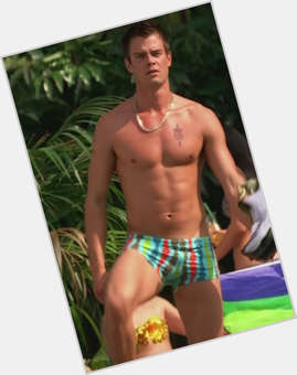Josh Duhamel dark brown hair & hairstyles Athletic body,