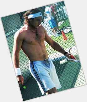 Juan Monaco dark brown hair & hairstyles Athletic body,