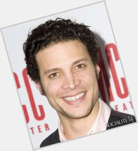 Justin Guarini dark brown hair & hairstyles Athletic body,
