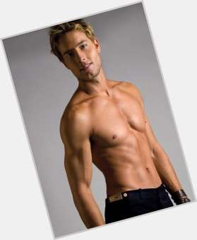 Justin Hartley blonde hair & hairstyles Athletic body,