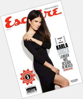 Karla Souza black hair & hairstyles Voluptuous body,