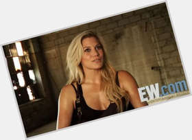 Katee Sackhoff blonde hair & hairstyles Athletic body,
