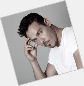 Kevin Alejandro dark brown hair & hairstyles Athletic body,