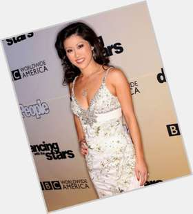 Kristi Yamaguchi black hair & hairstyles Athletic body,