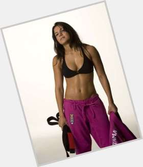 Kyra Gracie dark brown hair & hairstyles Athletic body,