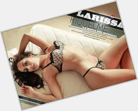 Larissa Riquelme dark brown hair & hairstyles Voluptuous body,