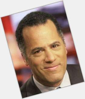 Lester Holt dark brown hair & hairstyles Athletic body,