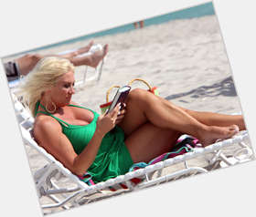 Linda Hogan blonde hair & hairstyles Voluptuous body,