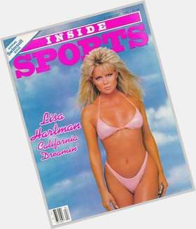 Lisa Hartman blonde hair & hairstyles Athletic body,