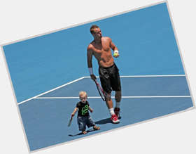 Lleyton Hewitt blonde hair & hairstyles Athletic body,