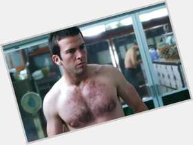 Lucas Black light brown hair & hairstyles Athletic body,