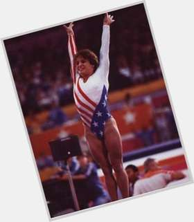 Mary Lou Retton dark brown hair & hairstyles Athletic body,