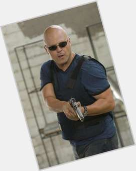 Michael Chiklis bald hair & hairstyles Bodybuilder body,