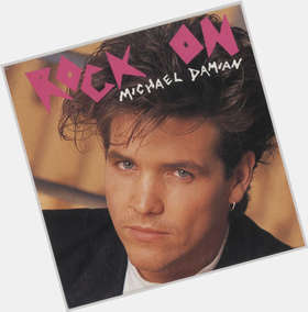 Michael Damian dark brown hair & hairstyles Athletic body,