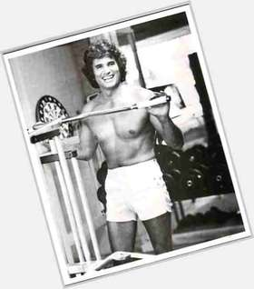 Michael Landon light brown hair & hairstyles Athletic body,