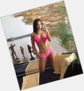 Michelle Lewin dark brown hair & hairstyles Athletic body,