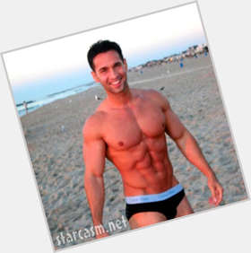 Mike The Situation Sorrentino dark brown hair & hairstyles Athletic body,