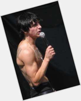 Mitchel Musso dark brown hair & hairstyles Athletic body,