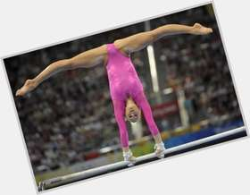 Nastia Liukin blonde hair & hairstyles Athletic body,