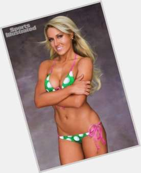 Natalie Gulbis blonde hair & hairstyles Athletic body,