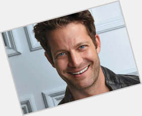 Nate Berkus dark brown hair & hairstyles Athletic body,