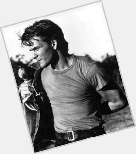 Patrick Swayze blonde hair & hairstyles Athletic body,