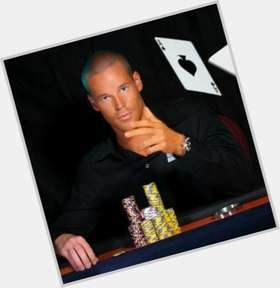 Patrik Antonius light brown hair & hairstyles Athletic body,