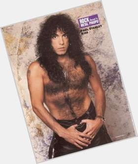 Paul Stanley dark brown hair & hairstyles Athletic body,