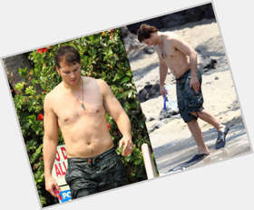 Peter Facinelli light brown hair & hairstyles Athletic body,