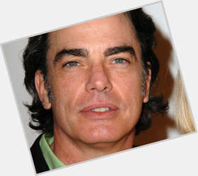 Peter Gallagher dark brown hair & hairstyles Athletic body,