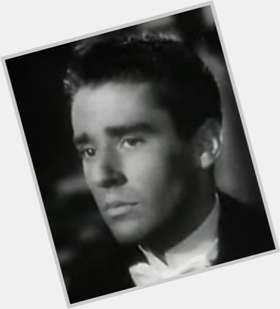 Peter Lawford dark brown hair & hairstyles Athletic body,