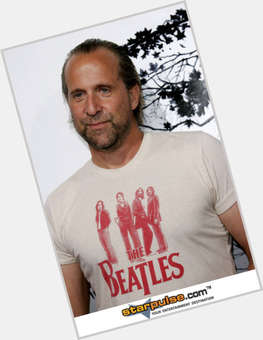 Peter Stormare dyed brown hair & hairstyles Athletic body,
