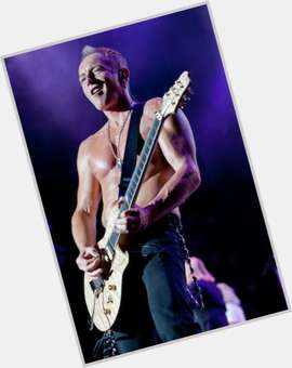 Phil Collen blonde hair & hairstyles Athletic body,