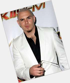 Pitbull bald hair & hairstyles Average body,