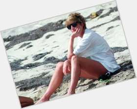 Princess Diana blonde hair & hairstyles Athletic body,