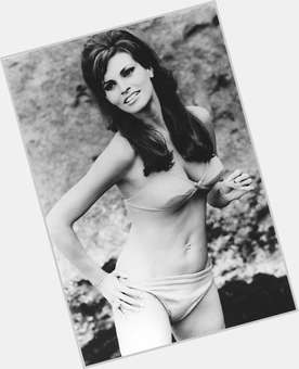 Raquel Welch light brown hair & hairstyles Voluptuous body,