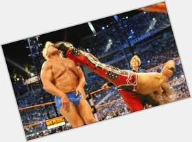 Ric Flair blonde hair & hairstyles Athletic body,