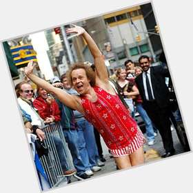 Richard Simmons light brown hair & hairstyles Athletic body,